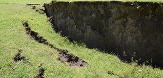 Φωτογραφικές διαφάνειες εδάφους στο λόφο Στοκ εικόνα με δικαίωμα ελεύθερης χρήσης