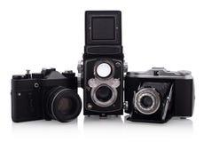 φωτογραφικές μηχανές ανα&de Στοκ Εικόνες