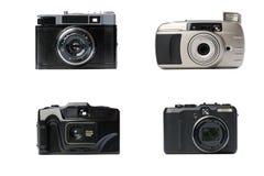 φωτογραφικές μηχανές διάφ&om Στοκ εικόνες με δικαίωμα ελεύθερης χρήσης
