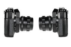 φωτογραφικές μηχανές παλ&al Στοκ εικόνες με δικαίωμα ελεύθερης χρήσης