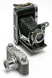 φωτογραφικές μηχανές παλ&al στοκ φωτογραφίες
