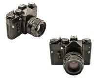φωτογραφικές μηχανές δύο Στοκ φωτογραφία με δικαίωμα ελεύθερης χρήσης