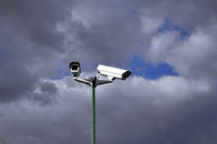 φωτογραφικές μηχανές Στοκ φωτογραφία με δικαίωμα ελεύθερης χρήσης