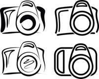 φωτογραφικές μηχανές Στοκ εικόνες με δικαίωμα ελεύθερης χρήσης