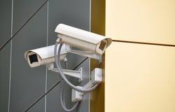 Φωτογραφικές μηχανές CCTV Στοκ Φωτογραφία