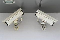 Φωτογραφικές μηχανές CCTV Στοκ Εικόνα