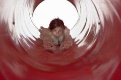 φωτογραφική διαφάνεια κοριτσιών Στοκ φωτογραφίες με δικαίωμα ελεύθερης χρήσης