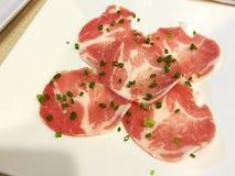 Φωτογραφική διαφάνεια χοιρινού κρέατος Στοκ Εικόνα