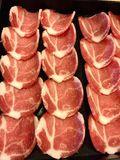 Φωτογραφική διαφάνεια χοιρινού κρέατος Στοκ φωτογραφία με δικαίωμα ελεύθερης χρήσης