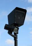 Φωτογραφική μηχανή κόκκινου φωτός Στοκ φωτογραφία με δικαίωμα ελεύθερης χρήσης