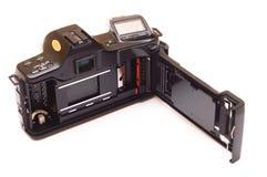 Φωτογραφική μηχανή που απομονώνεται αναδρομική στοκ φωτογραφίες με δικαίωμα ελεύθερης χρήσης