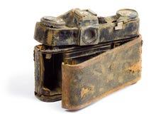 φωτογραφική μηχανή που καταστρέφεται slr Στοκ Εικόνες