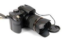 φωτογραφική μηχανή σύγχρονο επαγγελματικό SL στοκ φωτογραφία με δικαίωμα ελεύθερης χρήσης