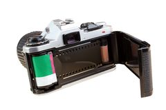 Φωτογραφική μηχανή ταινιών Στοκ εικόνα με δικαίωμα ελεύθερης χρήσης