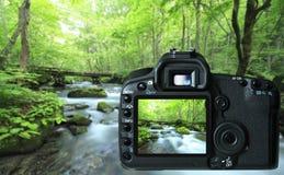 φωτογραφική μηχανή ψηφιακή Στοκ Φωτογραφία