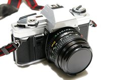 φωτογραφική μηχανή 35mm Στοκ Φωτογραφίες