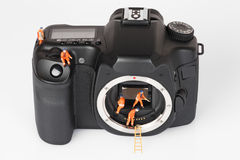 Φωτογραφική μηχανή 6 Στοκ Εικόνα