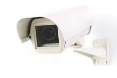 Φωτογραφική μηχανή CCTV στην κατοικία Στοκ εικόνα με δικαίωμα ελεύθερης χρήσης
