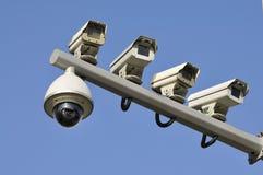 Φωτογραφική μηχανή CCTV Στοκ φωτογραφίες με δικαίωμα ελεύθερης χρήσης