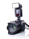 φωτογραφική μηχανή dslr Στοκ Εικόνες