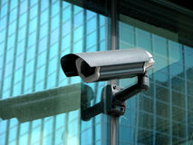 φωτογραφική μηχανή securiry Στοκ φωτογραφίες με δικαίωμα ελεύθερης χρήσης