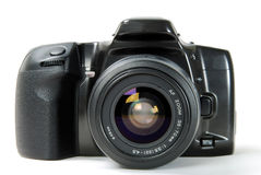 φωτογραφική μηχανή slr Στοκ Εικόνες