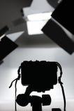 Φωτογραφική οργάνωση εξοπλισμού Στοκ φωτογραφίες με δικαίωμα ελεύθερης χρήσης