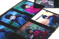 φωτογραφική διαφάνεια Στοκ Φωτογραφίες