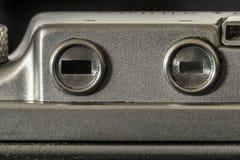Φωτογραφικός στενός επάνω λεπτομέρειας καμερών Στοκ Φωτογραφίες