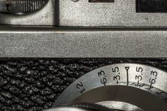 Φωτογραφικός στενός επάνω λεπτομέρειας καμερών Στοκ φωτογραφία με δικαίωμα ελεύθερης χρήσης