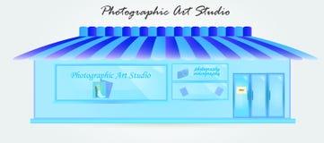 Φωτογραφικό στούντιο τέχνης απεικόνιση αποθεμάτων
