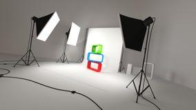 Φωτογραφικό στούντιο Ελεύθερη απεικόνιση δικαιώματος