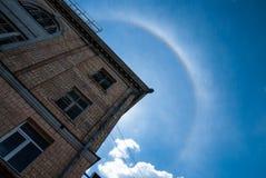 Φωτοστέφανος - ένα φυσικό φαινόμενο Στοκ Φωτογραφίες
