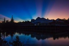 Φωτοστέφανος του φωτός Στοκ φωτογραφία με δικαίωμα ελεύθερης χρήσης