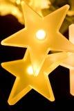 Φω'τα αστεριών γενέθλια Στοκ εικόνα με δικαίωμα ελεύθερης χρήσης