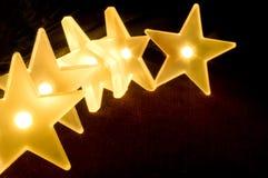 Φω'τα αστεριών Στοκ φωτογραφία με δικαίωμα ελεύθερης χρήσης