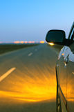 Φω'τα αυτοκινήτων Στοκ Εικόνες