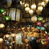 Φω'τα για την πώληση στο μεγάλο Bazaar στη Ιστανμπούλ Στοκ φωτογραφία με δικαίωμα ελεύθερης χρήσης