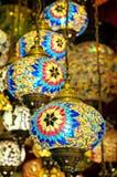 Φω'τα για την πώληση στο μεγάλο Bazaar στη Ιστανμπούλ Στοκ Φωτογραφίες