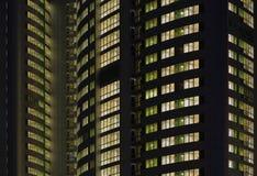 Φω'τα επάνω - καθένα σπίτι Στοκ εικόνες με δικαίωμα ελεύθερης χρήσης