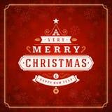 Φω'τα ευχετήριων καρτών Χαρούμενα Χριστούγεννας και Στοκ Φωτογραφίες