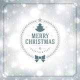 Φω'τα ευχετήριων καρτών Χαρούμενα Χριστούγεννας και Στοκ φωτογραφίες με δικαίωμα ελεύθερης χρήσης
