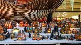 Φω'τα και διακοσμήσεις διακοπών του Σαν Φρανσίσκο ` s Στοκ φωτογραφία με δικαίωμα ελεύθερης χρήσης
