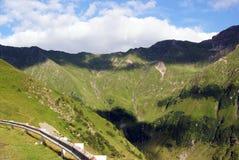Φω'τα και σκιές στα βουνά fagaras Στοκ φωτογραφία με δικαίωμα ελεύθερης χρήσης
