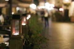 Φω'τα κεριών Στοκ Εικόνα