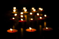 Φω'τα κεριών Στοκ φωτογραφία με δικαίωμα ελεύθερης χρήσης
