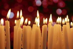 Φω'τα κεριών Στοκ Φωτογραφίες