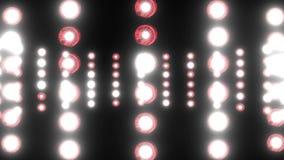 Φω'τα κόμματος (λάμποντας λαμπτήρες) (+100 κομμάτι) απόθεμα βίντεο