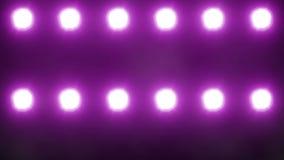 Φω'τα κόμματος (λάμποντας λαμπτήρες) (+100 κομμάτι) ελεύθερη απεικόνιση δικαιώματος