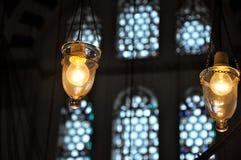 Φω'τα μουσουλμανικών τεμενών Στοκ Φωτογραφία